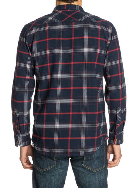 Flanel Quiksilver Original the flannel sleeve flannel shirt eqywt03034 quiksilver