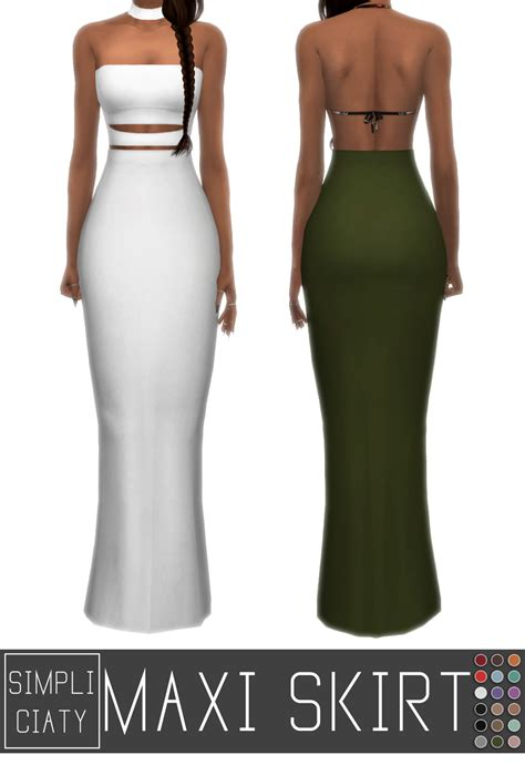 Simple Maxi 2 by Simply King Simpliciaty Maxi Skirt Simple Maxi
