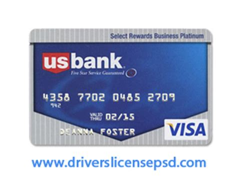 Credit Template For Photoshop Drivers License Drivers License Drivers License Psd Credit Card Us Bank Psd Format