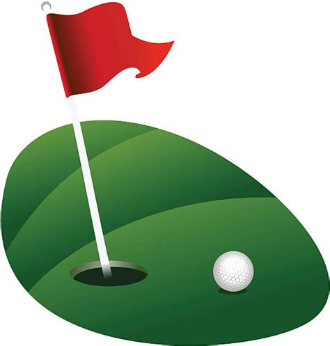 golf clipart royalty free putting green clip vector images