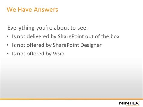 sharepoint out of the box workflows aspect software sponsored what nintex workflow 2010 adds