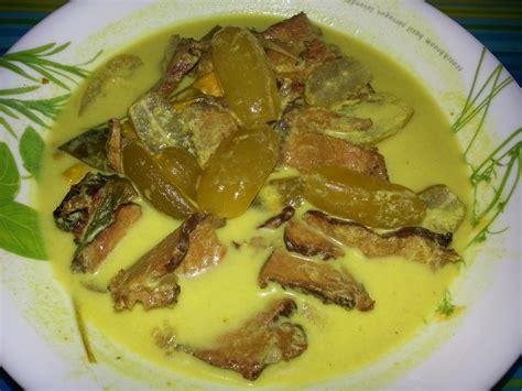 Minyak Ikan Buat Ayam Bangkok 10 resipi masakan masak lemak cili padi popular di negeri