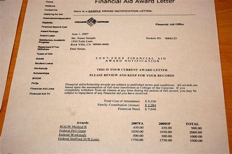Rutgers Award Letter Guide Fafsa Award Letter Levelings