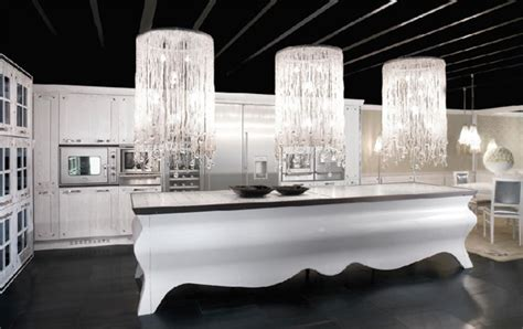 Luxury Kitchen Furniture Home Interior Design Luxury Black And White Kitchen Interior Design