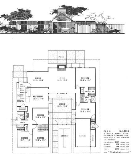eichler atrium floor plan this is the floor plan for the double gable eichler my
