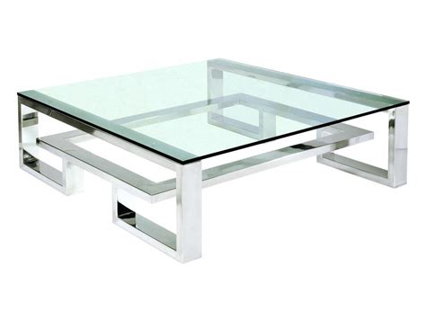 Square Wood And Metal Coffee Table Square Metal Coffee Table Thelt Co