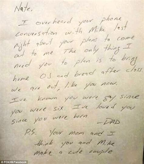 dad writes touching letter to daughter with down syndrome dad s touching letter accepting gay son goes viral daily