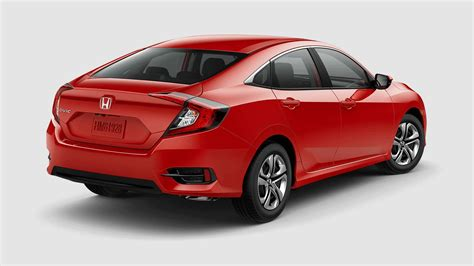 honda civic 2017 sedan 2017 honda civic sedan color options
