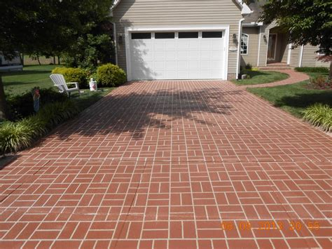 brick driveway pictures for shorecrete coatings llc in denton md 21629