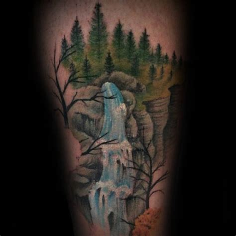 japanese waterfall tattoo designs 70 waterfall designs for glistening ink ideas