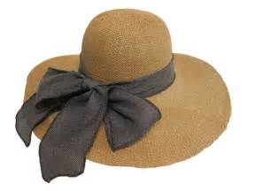 We love our summer straw hats with linen bows at the back this style