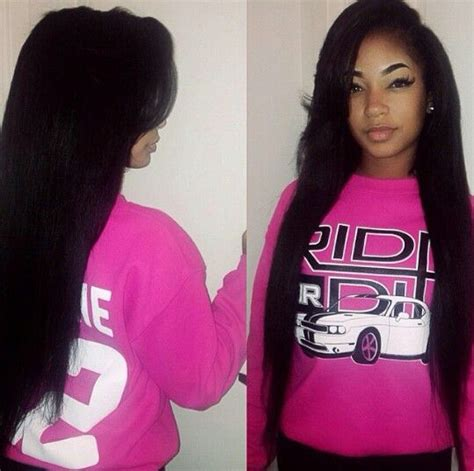 sew in bang straight hair styles red brazilian dare to have hair com h a i r pinterest peruvian