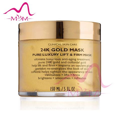 Collagen Gold Mask zhengzhou gree well 100 collagen 24k gold