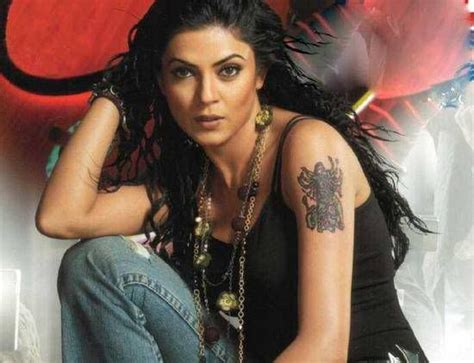 sushmita sen tattoo images 39 best images about tattoos of bollywood celebrity on
