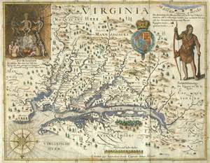 Colonial Virginia Map by Gallery For Gt Virginia Colony Map