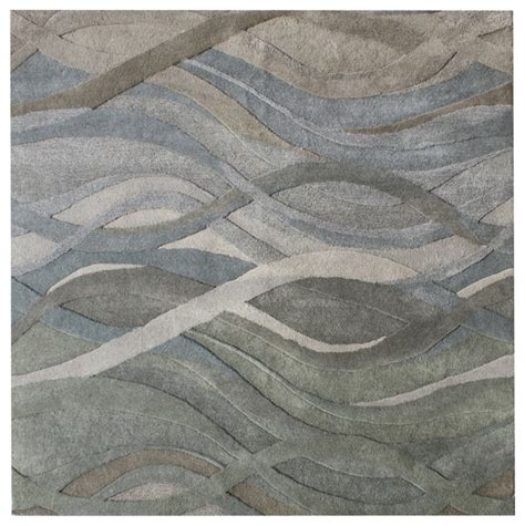 Gray Area Rug 8x10 Silver Grey Green Multi Colors Light Rust Contemporary Rug 8x10 Contemporary Area Rugs