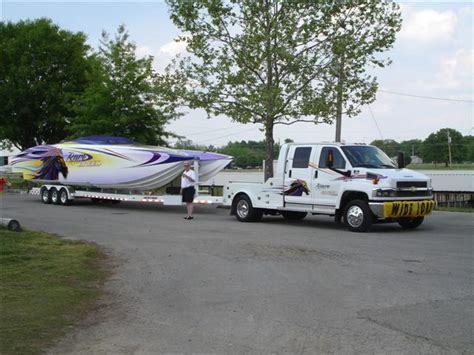 rc truck pulling boat truck pulling a boat towing trailer eaton 1 high quality