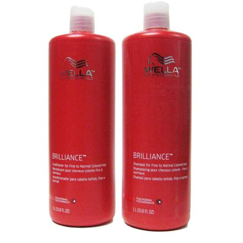 Five Conditioners For Coloured Hair by Wella Brilliance Shoo And Conditioner Duo For Hair