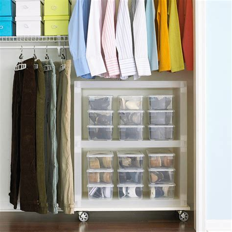 Plastic In Closet by 8 Out Of The Box Ways To Organize Your Shoes