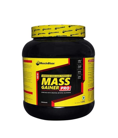 Gorillaz Mass Gain 15 Lbs muscleblaze mass gainer pro 1 5 kg 3 3 lbs buy proteins sports nutrition in india