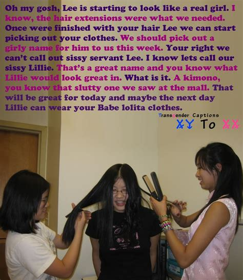 feminize his hair sissy our sissy servant lillie jpg 1024 215 1182 tg captions