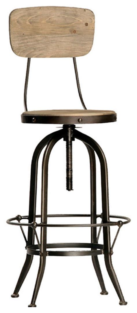 Stainless Steel Counter Stools With Backs by Ford Bar Stool With Back Stainless Steel Transitional