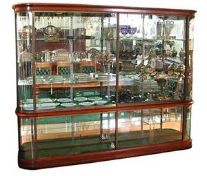 Antique Glass Display Cabinet For Sale Wonderful Antique Mahogany Glass Display Cabinet