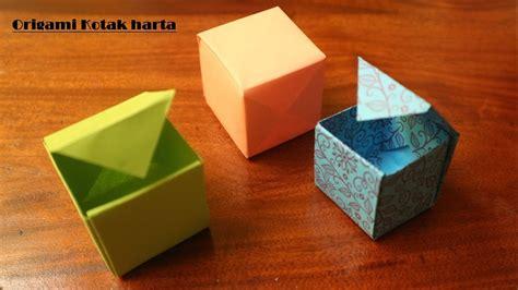 cara membuat origami kereta cara membuat origami kotak mudah youtube