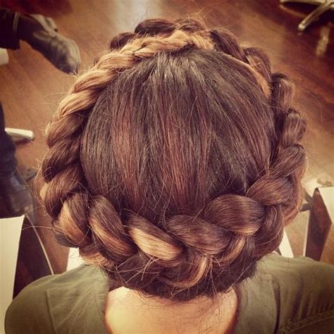 crown rolls braids gorgeous crown braids inspired by pinterest beautyfrizz