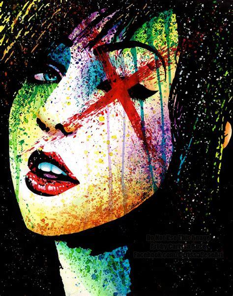 horror show hand signed art print punk rock wall decor