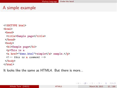html5 features with exles