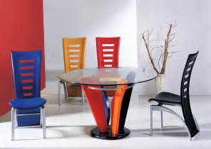 Colorful Dining Table Set Colorful Dining Room Table Chairs Modern Dining Room Design