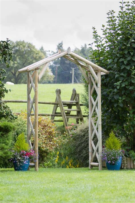 Garden Arch Primrose Rustic Arch 163 129 99