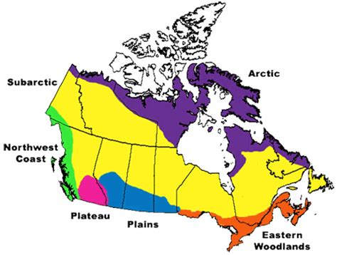 nations map of canada aboriginals in canada looking beyond the flag canada