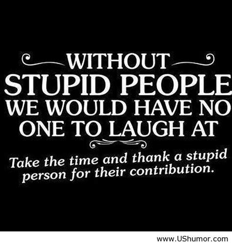 Stupid Quotes Quotes About Stupidity Quotesgram