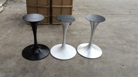 metal table base for sale sale white trumpet leg metal dinning tulip table base