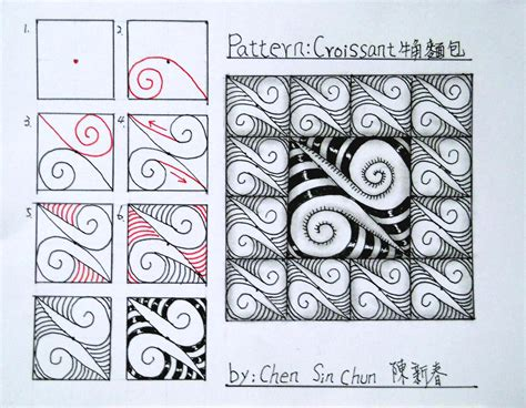 zentangle nutheadsarah zentangle ideas step by step www imgkid com the image