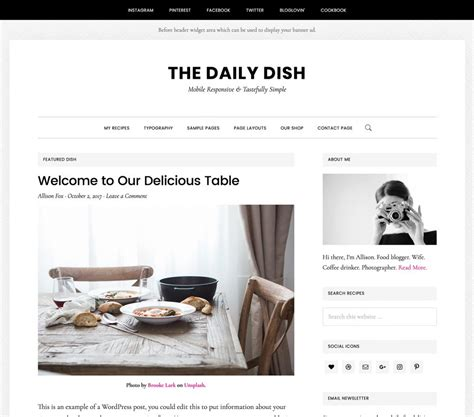 Daily Dish by How To Start A Food The Easy And Fastest Way
