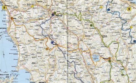 map of tuscany tuscany road map tuscany italy mappery