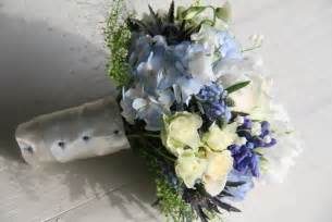 blue wedding flowers the flower magician beautiful blue wedding bouquet