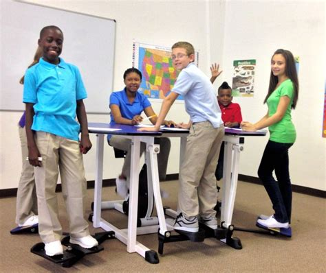 standing desk for kids 1000 images about the kinesthetic classroom on pinterest