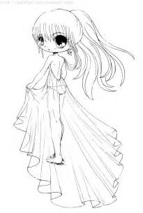 chibi anime coloring pages kids coloring