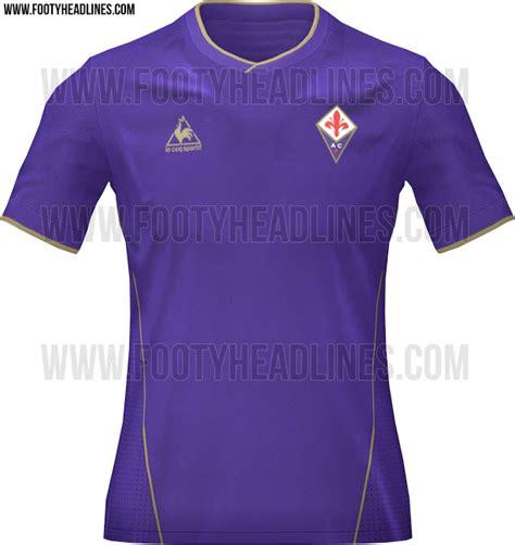 Fiorentina Home 6 fiorentina prime bozze delle nuove maglie 2015 2016