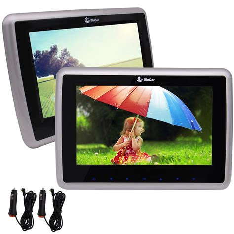 Lcd Tablet Advan 10 Inch eincar 10 inch tft lcd screen car headrest dvd player with two ir headphone removable