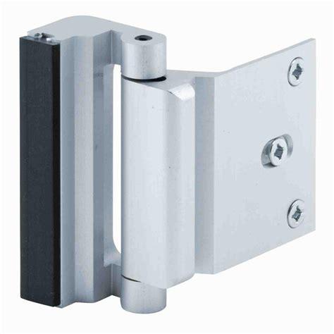 Prime Line Satin Nickel Door Blocker Entry Door Stop U Exterior Door Guard