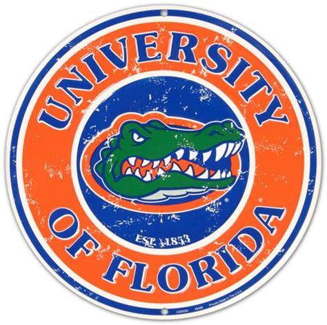 Uf Search Of Florida Tin Sign At Allposters