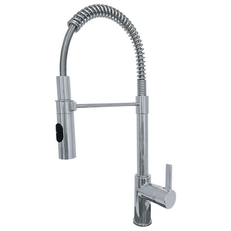 franke fuji single handle pull sprayer kitchen faucet with fast in install system in