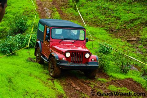 mahindra jeep thar 2017 mahindra thar price review pics specs mileage in html