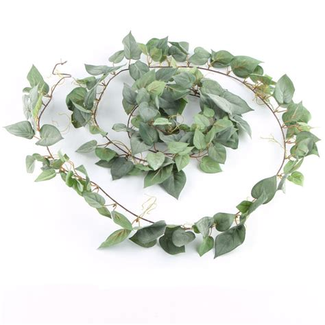 artificial pothos leaf garland garlands floral