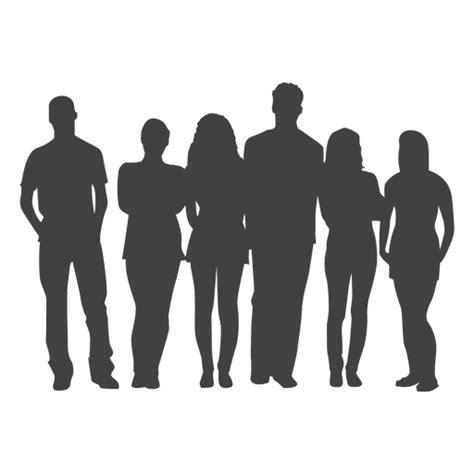 imagenes png personas grupo de personas de la silueta descargar png svg